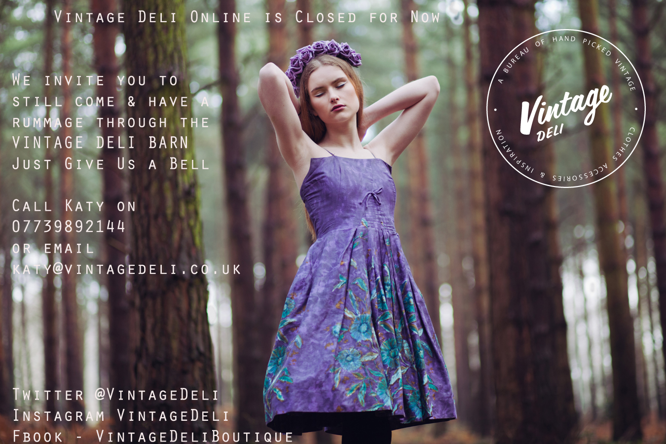 Vintage Deli, A bureau of hand picked vintage. Clothes, accessessories & inspiration